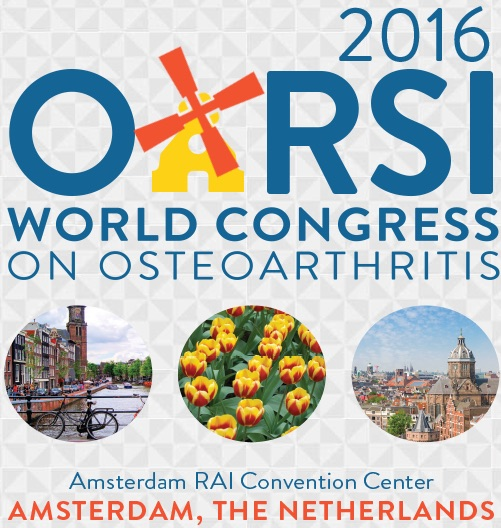 Attending the 2016 OARSI Meeting in Amsterdam!