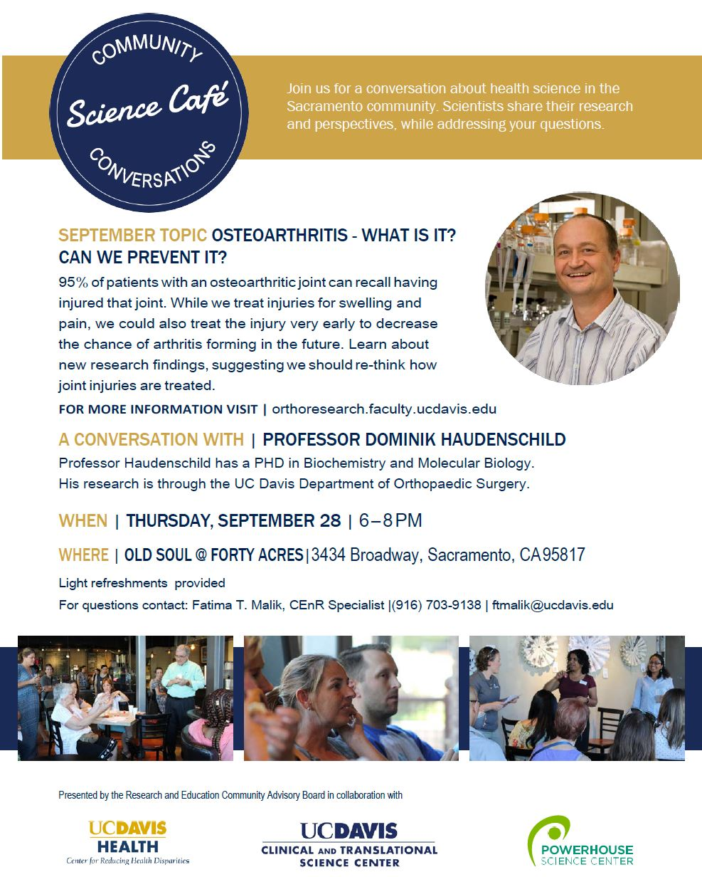 Science Cafe Tonight